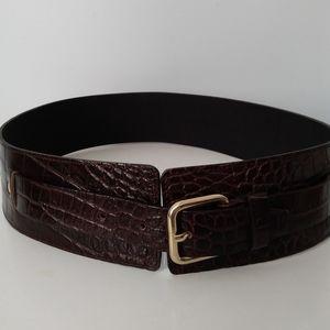 Olson Europe 💯% Leather Waistbelt